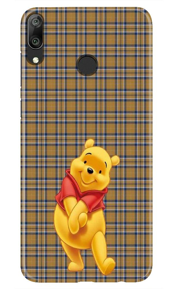 Pooh Mobile Back Case for Honor Play (Design - 321)