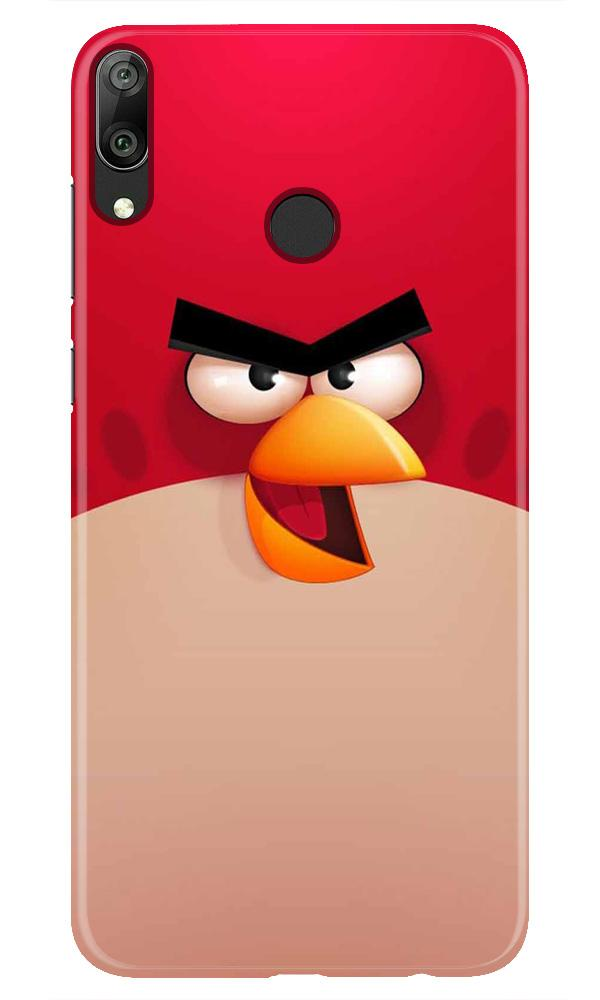 Angry Bird Red Mobile Back Case for Honor Play (Design - 325)