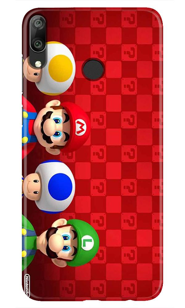 Mario Mobile Back Case for Honor Play (Design - 337)