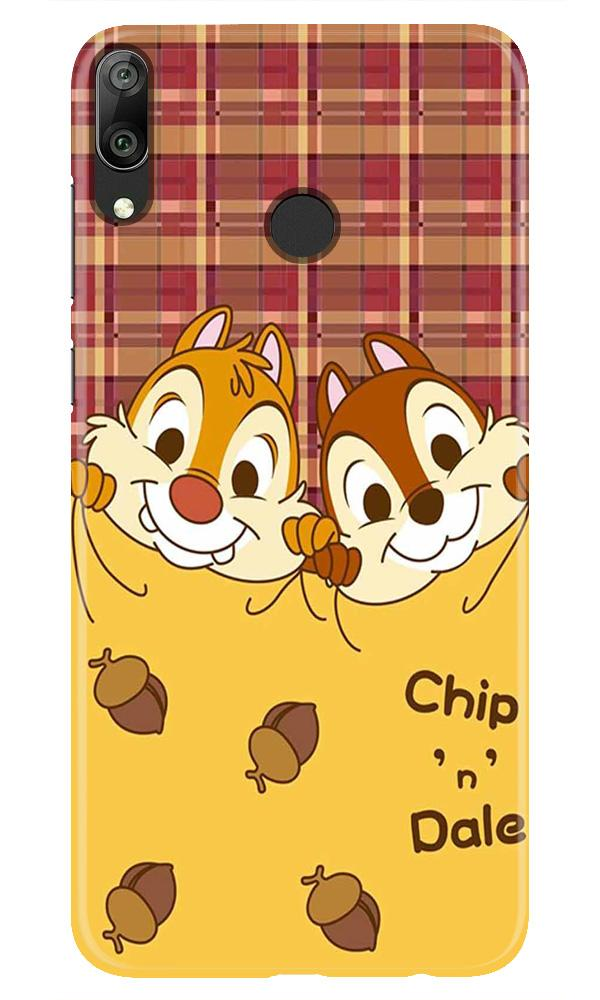 Chip n Dale Mobile Back Case for Honor Play (Design - 342)