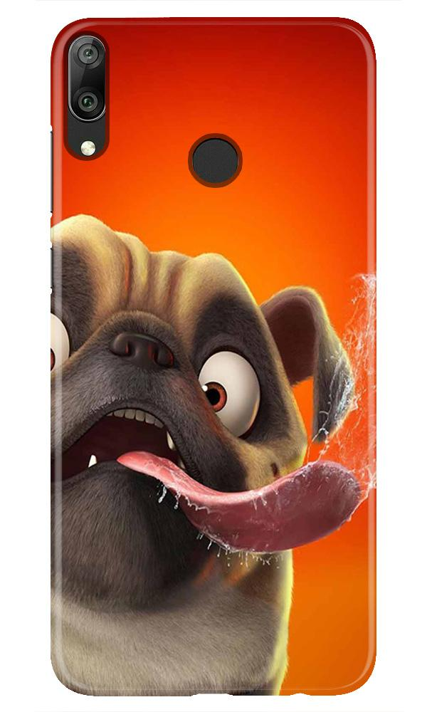 Dog Mobile Back Case for Honor Play (Design - 343)