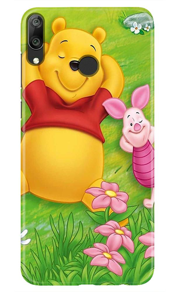 Winnie The Pooh Mobile Back Case for Honor Play (Design - 348)