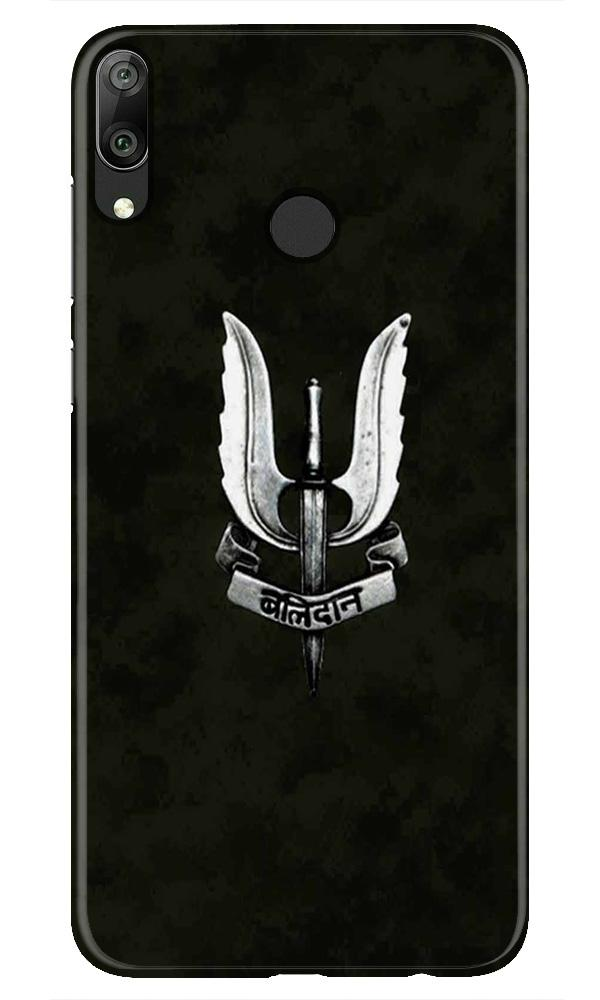 Balidaan Mobile Back Case for Honor Play (Design - 355)