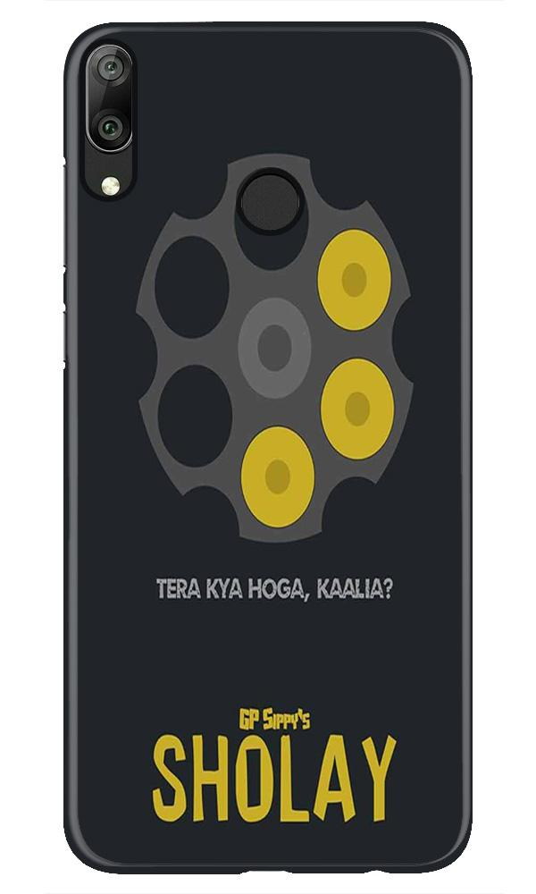 Sholay Mobile Back Case for Honor Play (Design - 356)