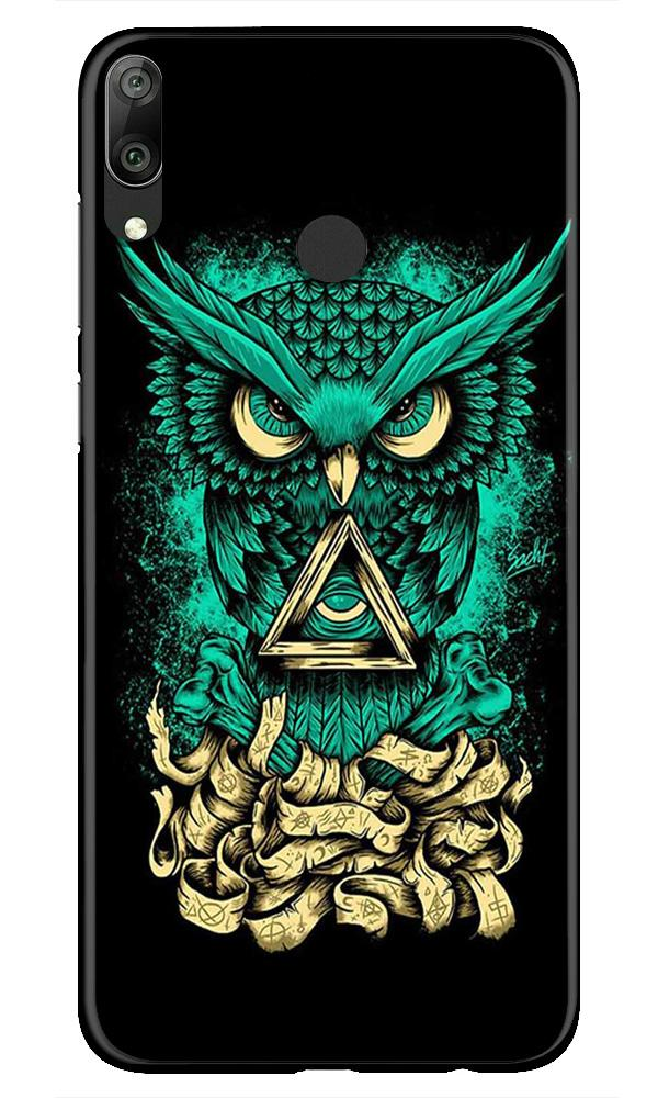 Owl Mobile Back Case for Honor Play (Design - 358)