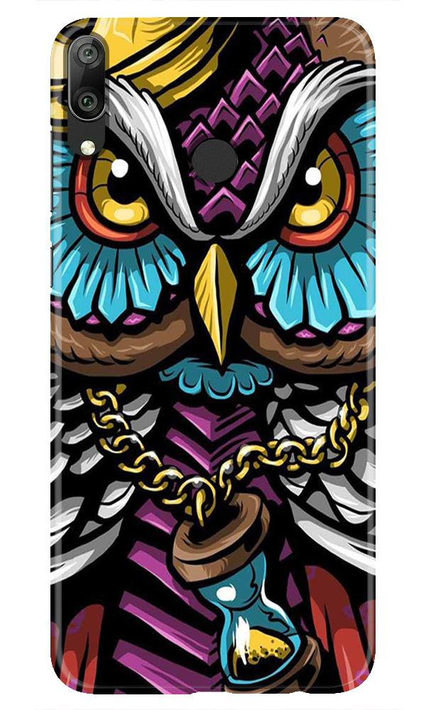 Owl Mobile Back Case for Honor Play (Design - 359)