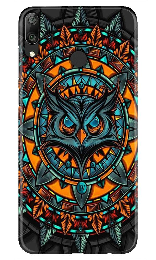 Owl Mobile Back Case for Honor Play (Design - 360)