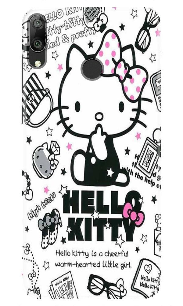 Hello Kitty Mobile Back Case for Honor Play (Design - 361)