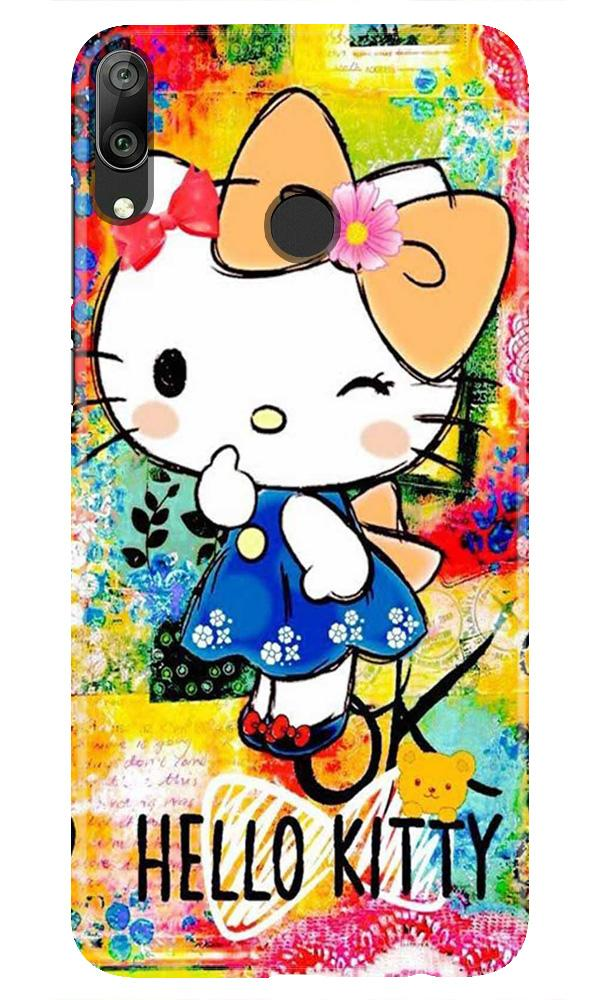 Hello Kitty Mobile Back Case for Honor Play (Design - 362)