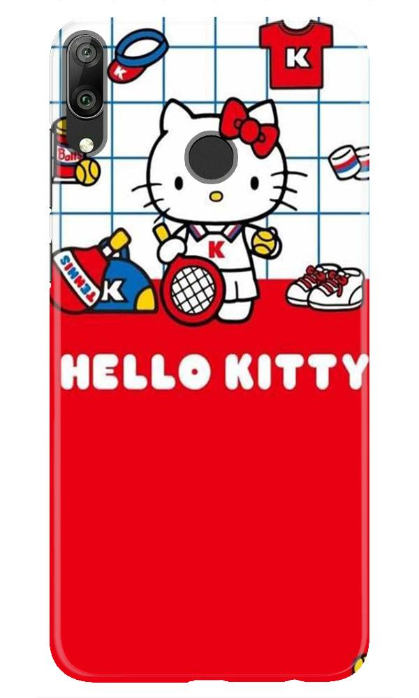 Hello Kitty Mobile Back Case for Honor Play (Design - 363)