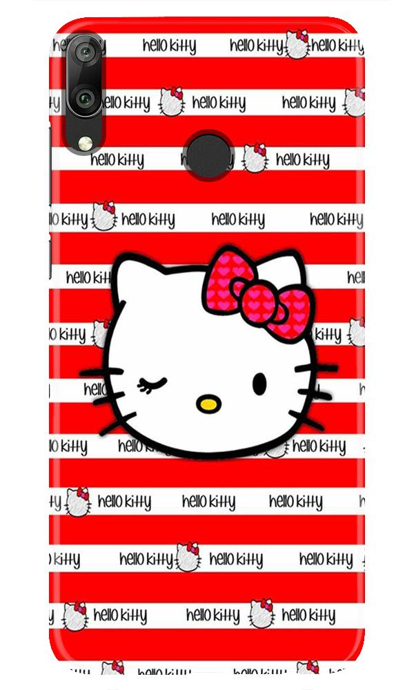 Hello Kitty Mobile Back Case for Honor Play (Design - 364)