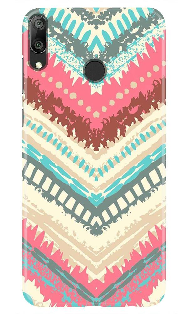Pattern Mobile Back Case for Honor Play (Design - 368)