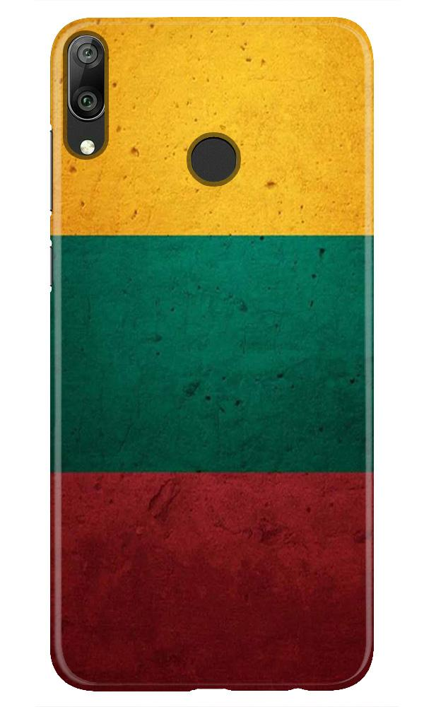 Color Pattern Mobile Back Case for Honor Play (Design - 374)