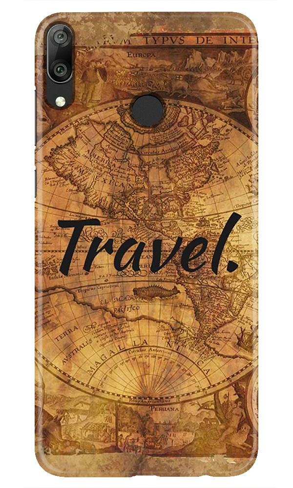 Travel Mobile Back Case for Honor Play (Design - 375)