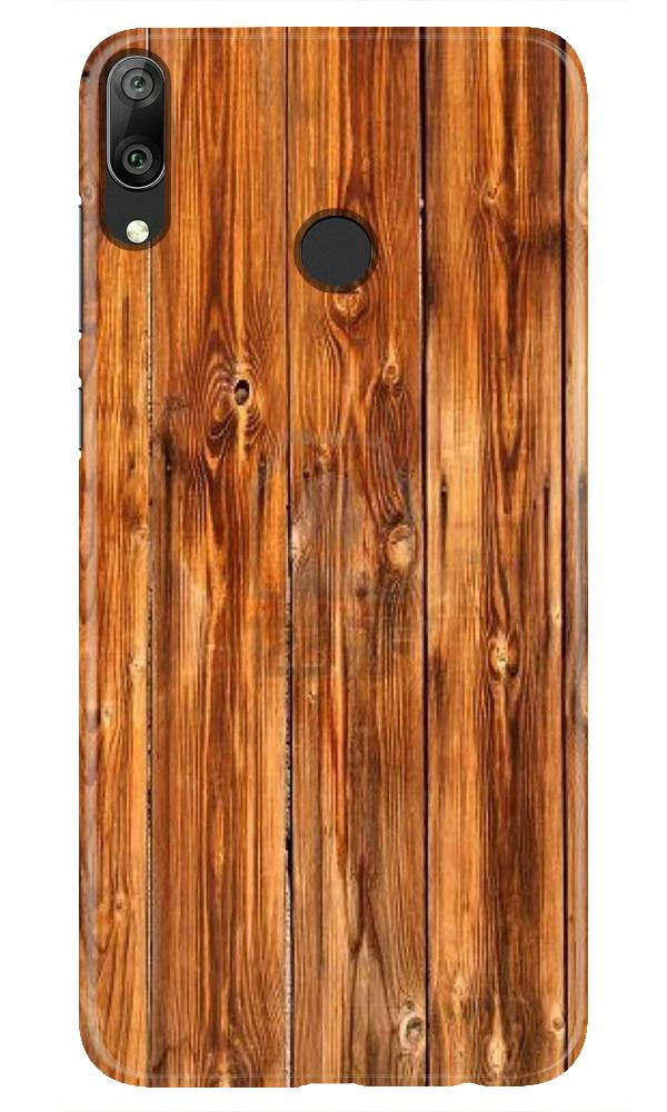 Wooden Texture Mobile Back Case for Honor Play (Design - 376)