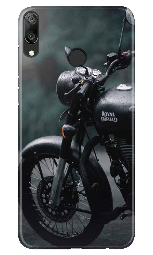 Royal Enfield Mobile Back Case for Honor Play (Design - 380)