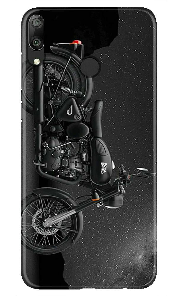 Royal Enfield Mobile Back Case for Honor Play (Design - 381)