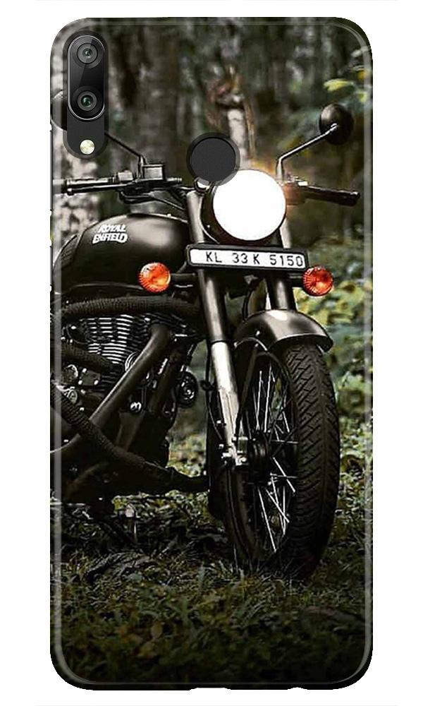 Royal Enfield Mobile Back Case for Honor Play (Design - 384)