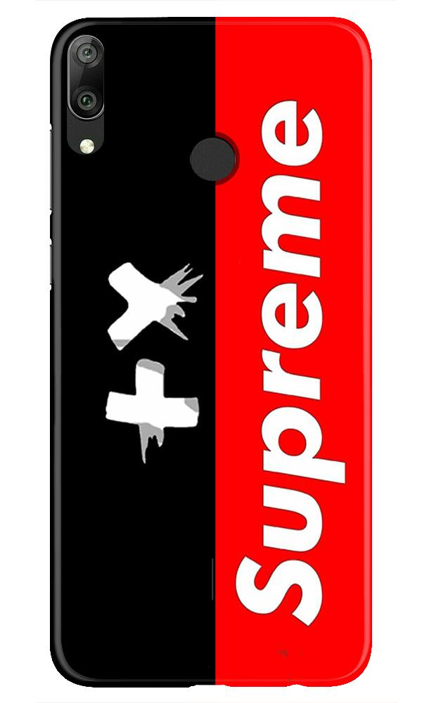 Supreme Mobile Back Case for Honor Play (Design - 389)