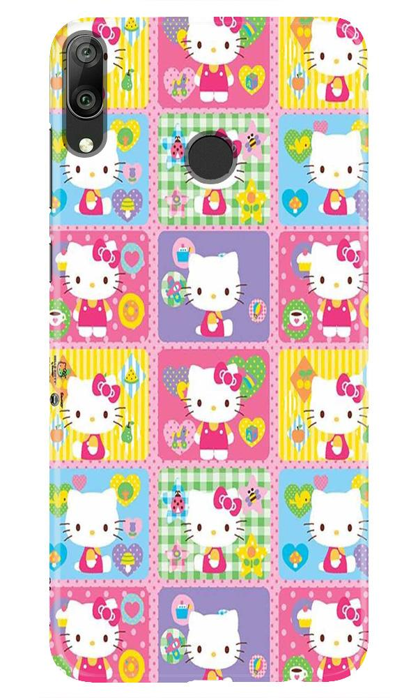 Kitty Mobile Back Case for Honor Play (Design - 400)