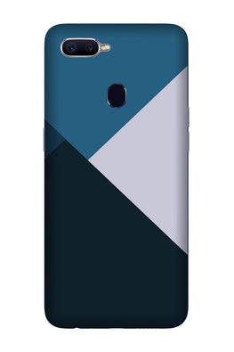 Blue Shades Case for Oppo F7 (Design - 188)