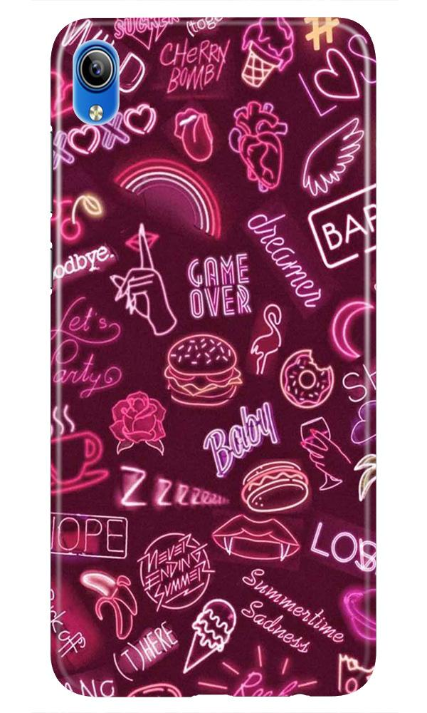 Party Theme Mobile Back Case for Vivo Y91i   (Design - 392)