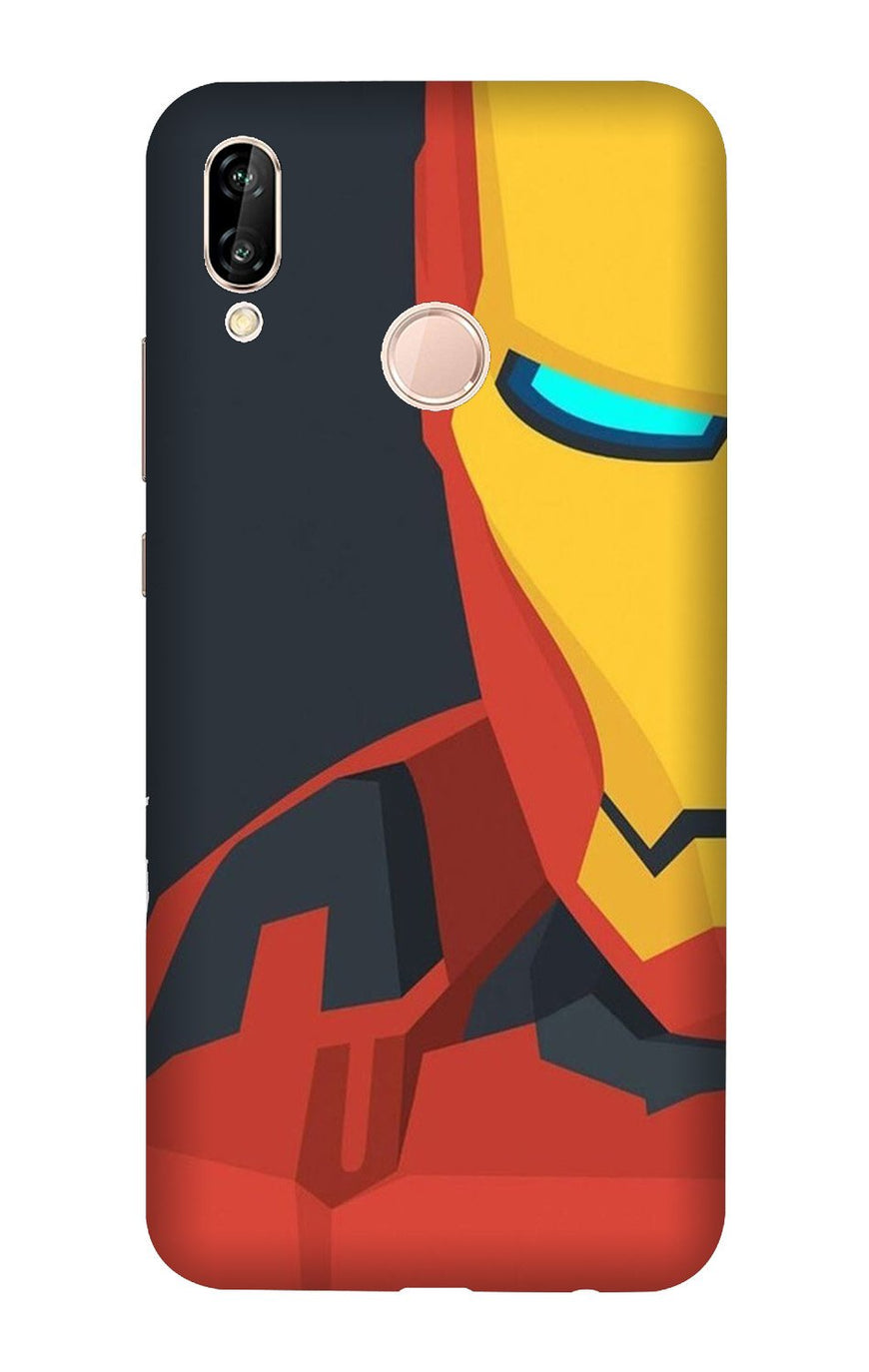 Iron Man Superhero Case for Honor Play  (Design - 120)