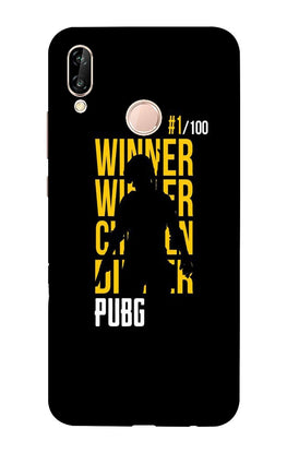 Pubg Winner Winner Case for Honor Play  (Design - 177)