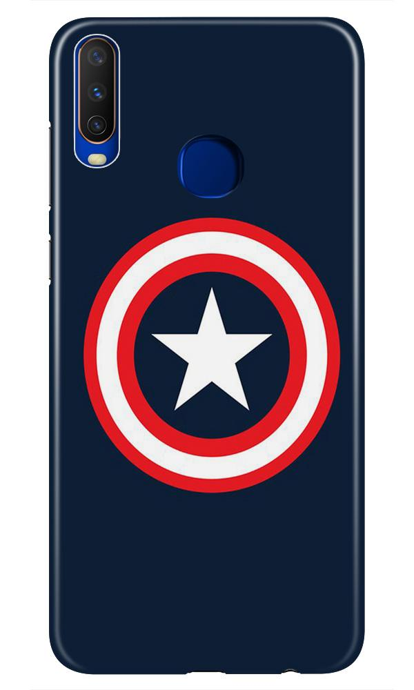 Captain America Case for Vivo Z1 Pro