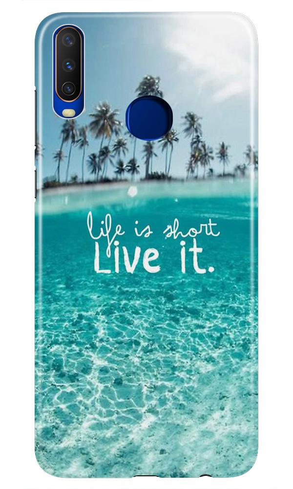 Life is short live it Case for Vivo Z1 Pro