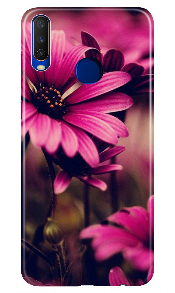 Purple Daisy Case for Vivo Z1 Pro