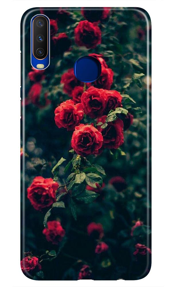 Red Rose Case for Vivo Z1 Pro