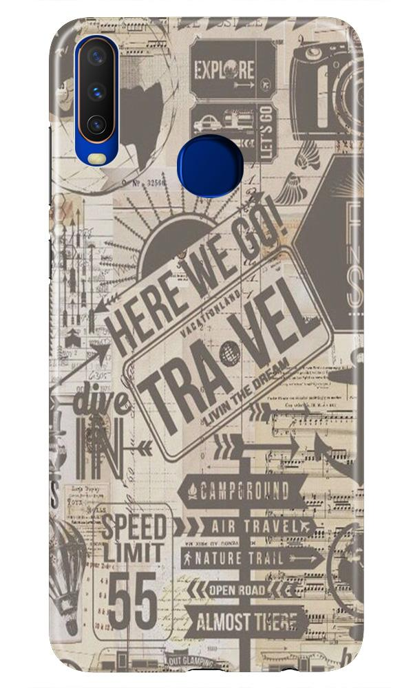 Travel Case for Vivo Z1 Pro  (Design - 104)