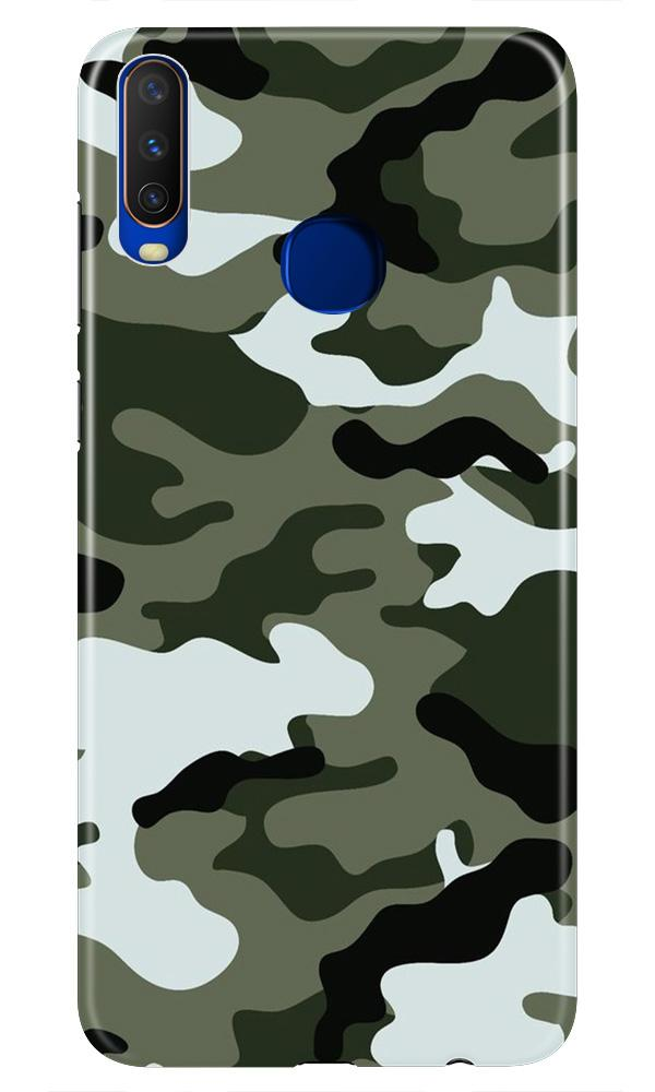 Army Camouflage Case for Vivo Z1 Pro  (Design - 108)