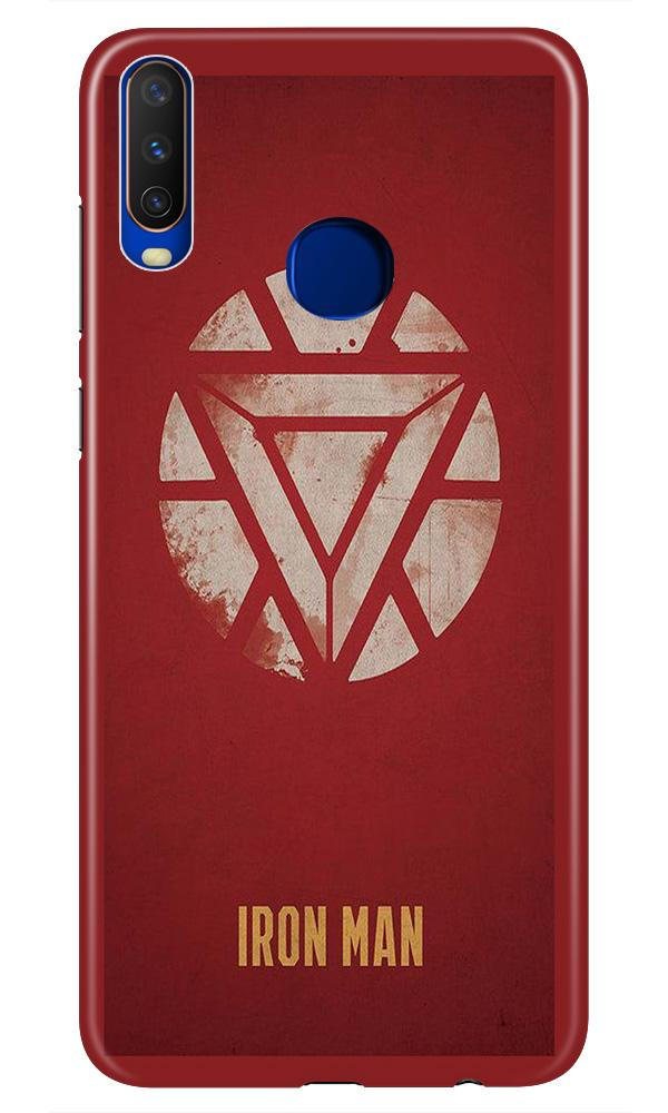 Iron Man Superhero Case for Vivo Z1 Pro  (Design - 115)