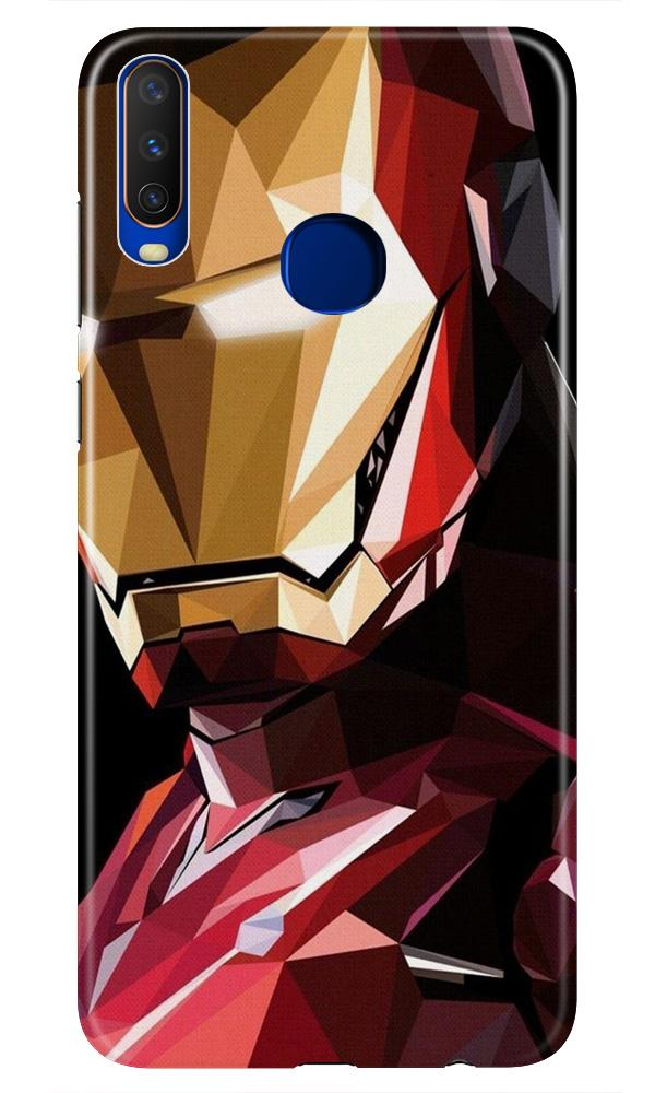 Iron Man Superhero Case for Vivo Z1 Pro  (Design - 122)