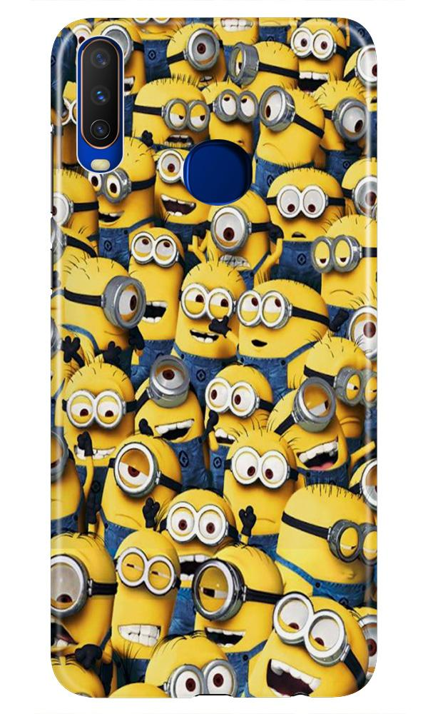 Minions Case for Vivo Z1 Pro  (Design - 126)