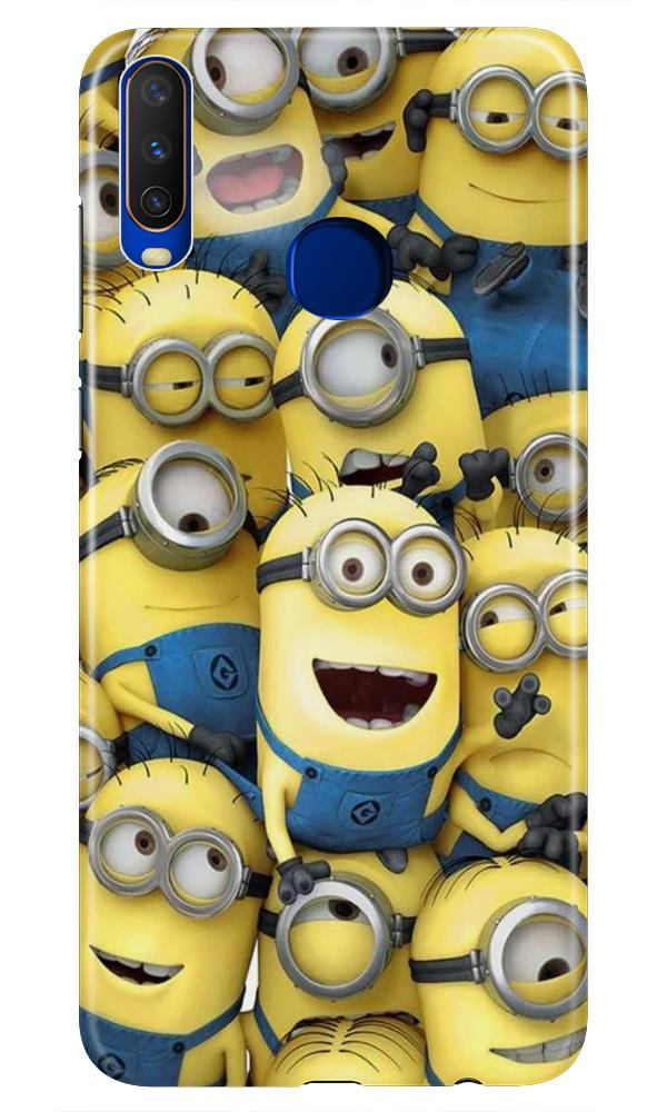Minions Case for Vivo Z1 Pro  (Design - 127)