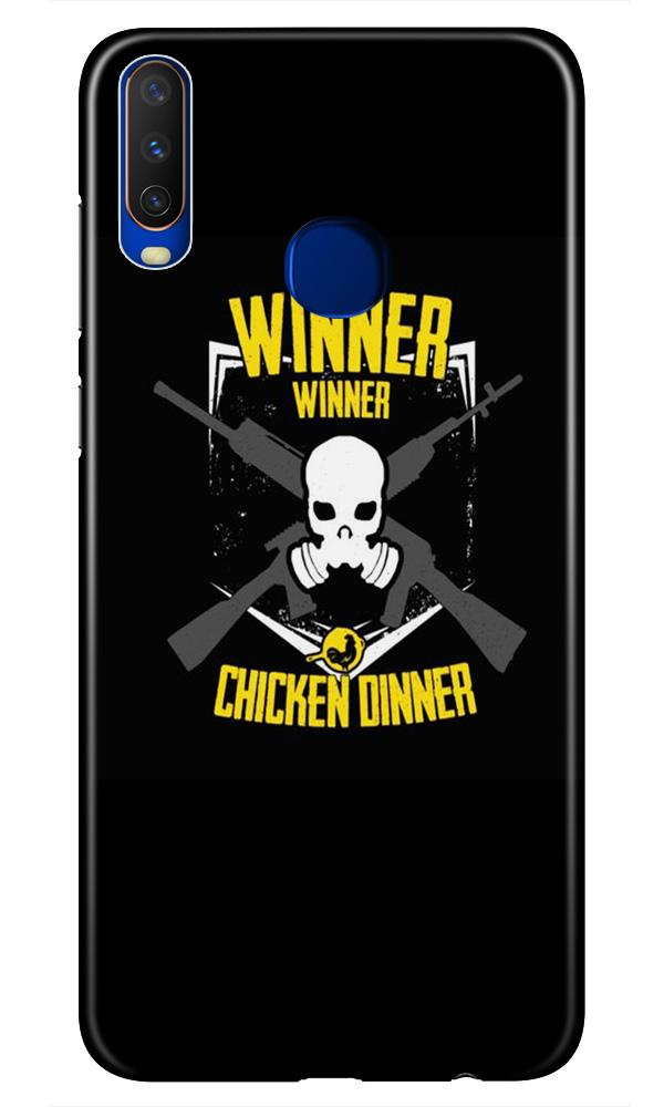 Winner Winner Chicken Dinner Case for Vivo Z1 Pro  (Design - 178)