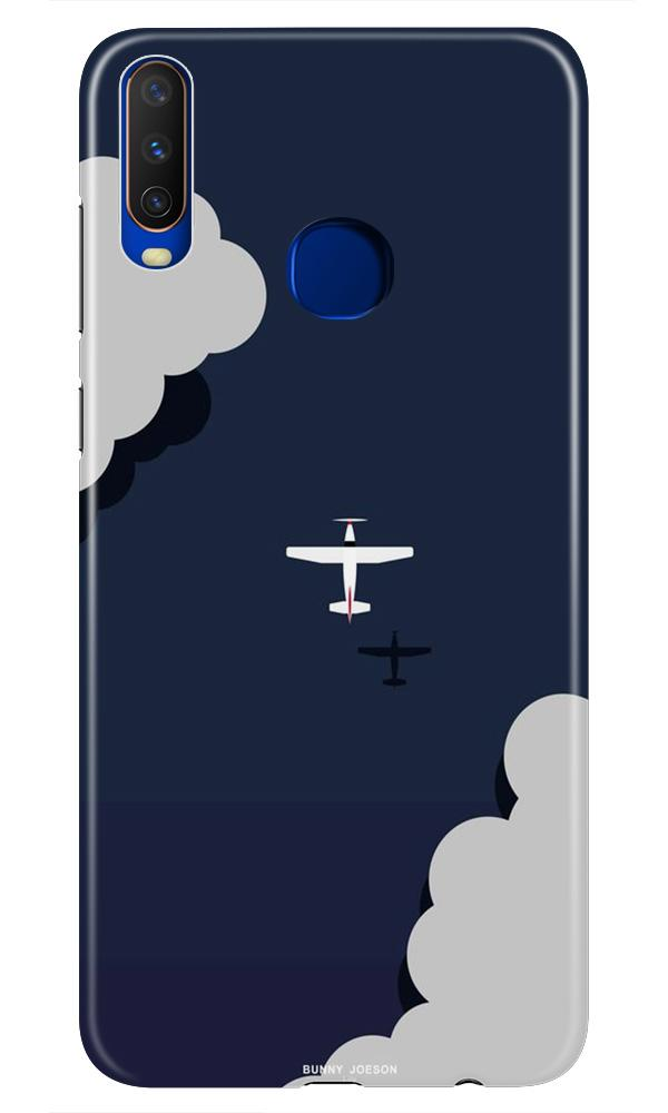 Clouds Plane Case for Vivo Z1 Pro (Design - 196)