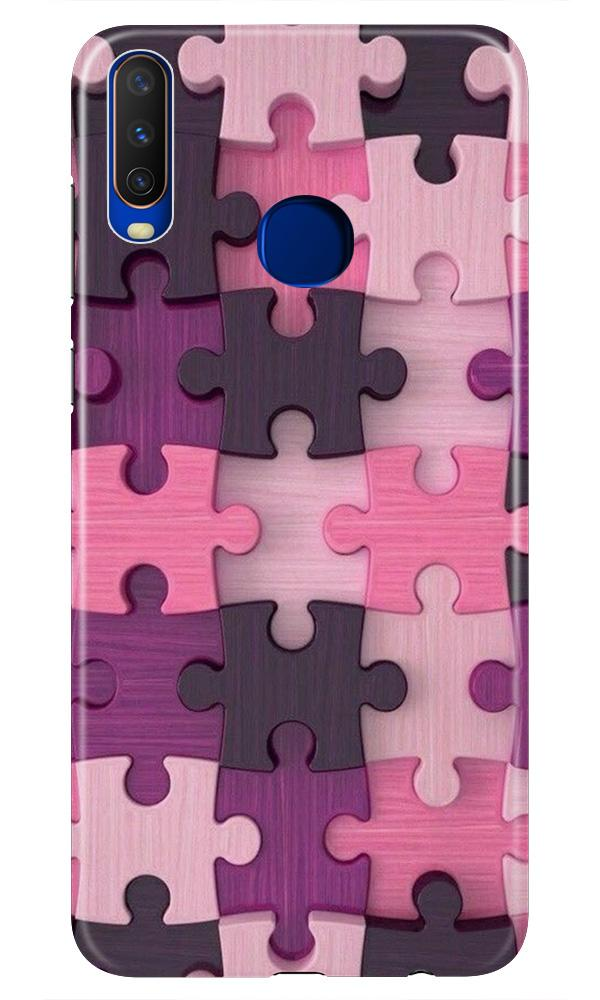 Puzzle Case for Vivo Z1 Pro (Design - 199)