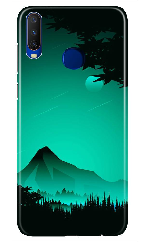 Moon Mountain Case for Vivo Z1 Pro (Design - 204)
