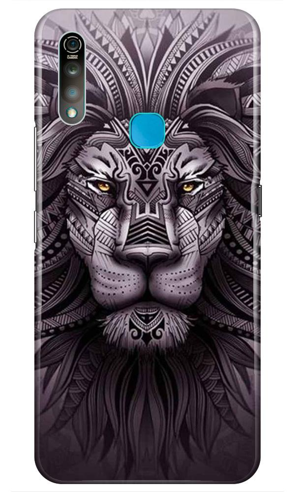 Lion Mobile Back Case for Vivo Z1 Pro   (Design - 315)