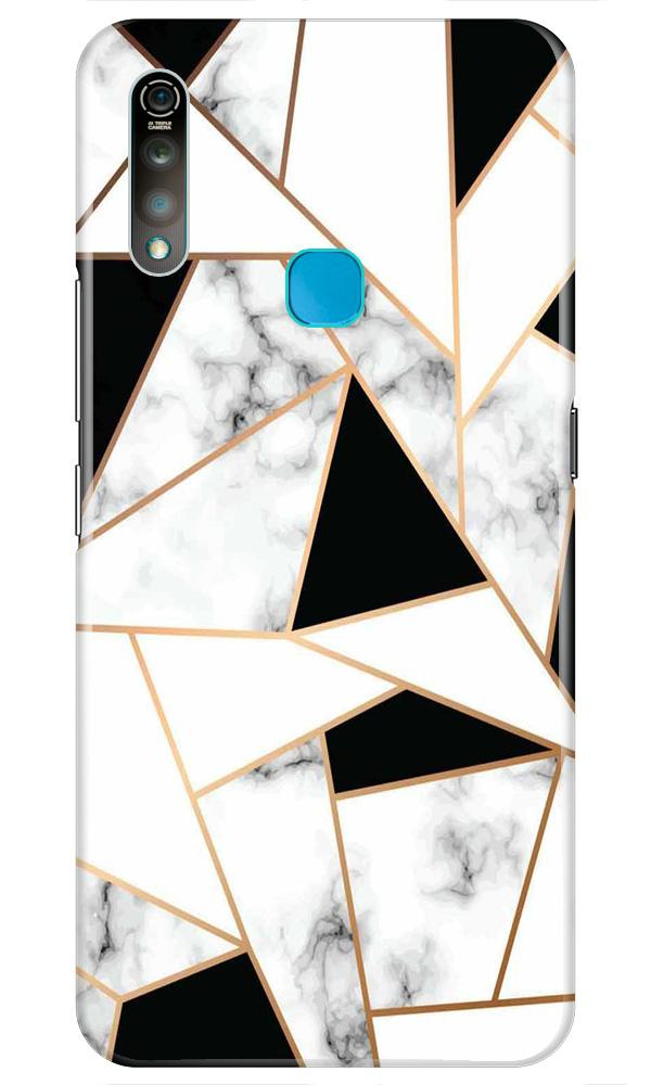 Marble Texture Mobile Back Case for Vivo Z1 Pro   (Design - 322)