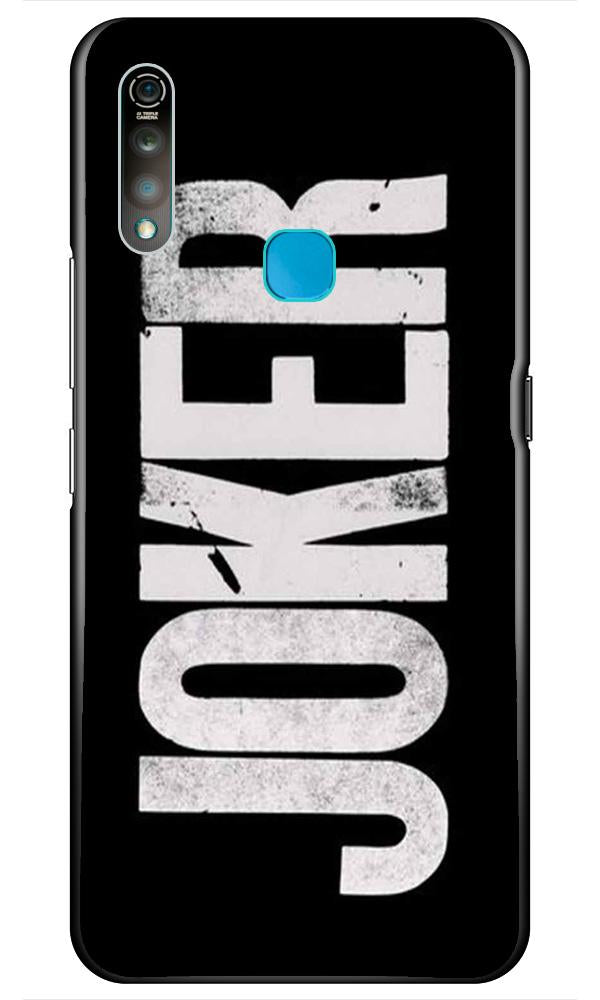 Joker Mobile Back Case for Vivo Z1 Pro   (Design - 327)
