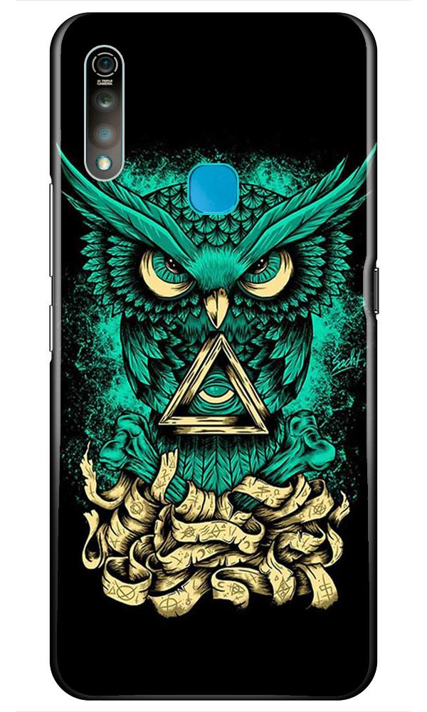 Owl Mobile Back Case for Vivo Z1 Pro   (Design - 358)