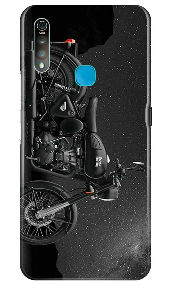 Royal Enfield Mobile Back Case for Vivo Z1 Pro   (Design - 381)