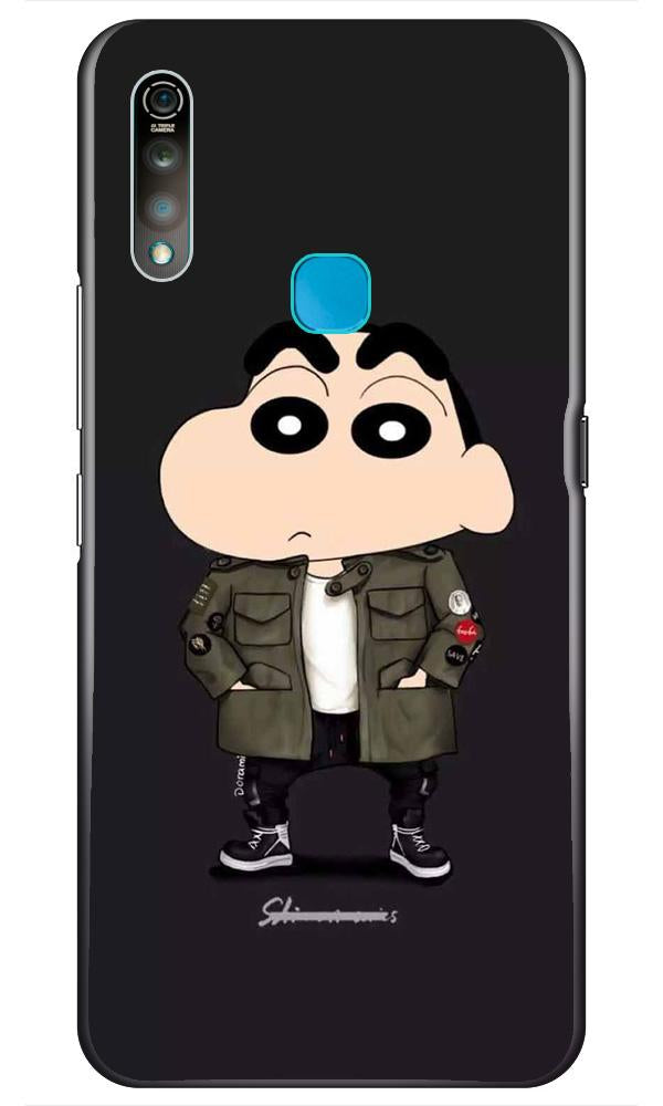 Shin Chan Mobile Back Case for Vivo Z1 Pro   (Design - 391)