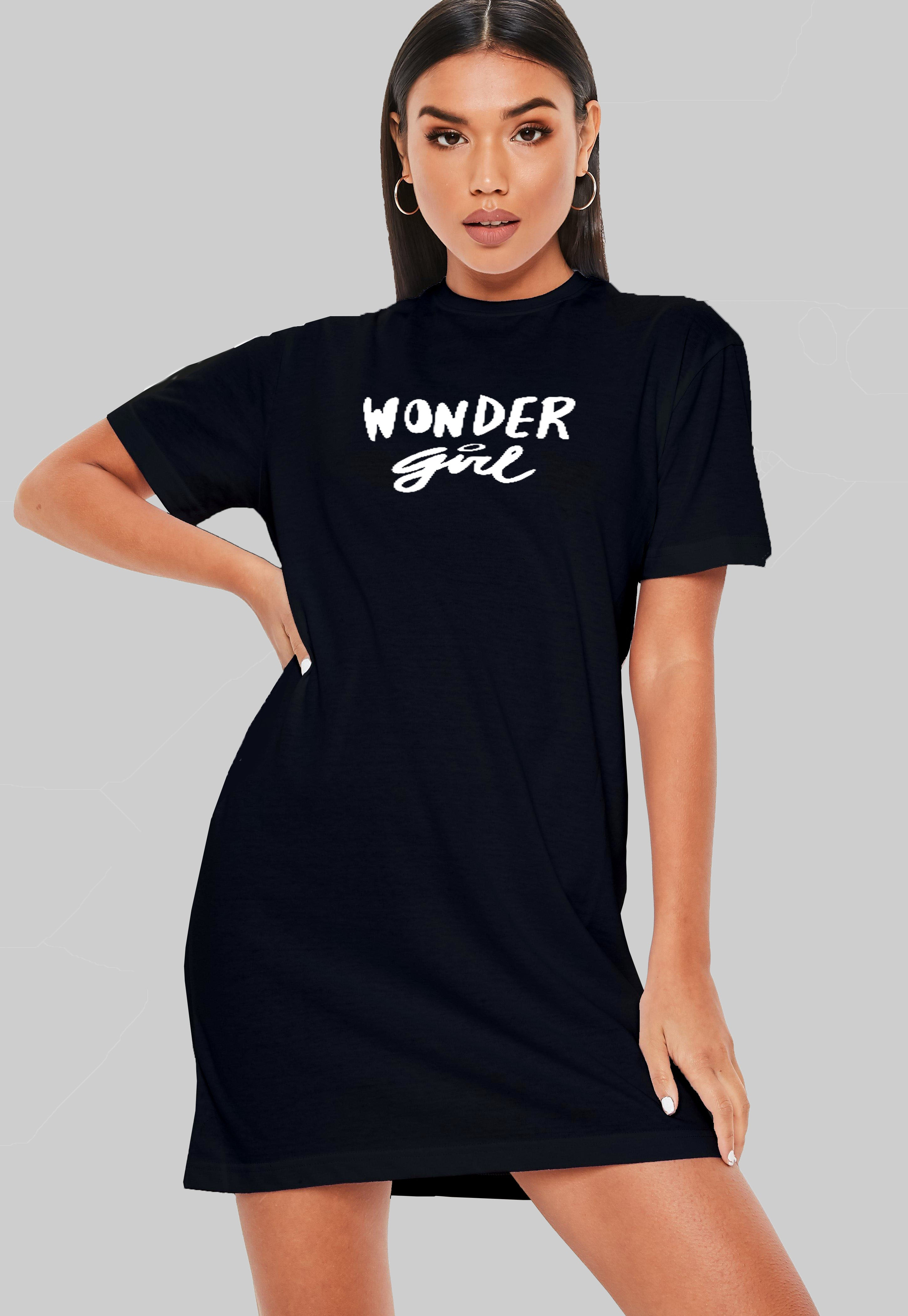 Wonder Girl T-Shirt Dress