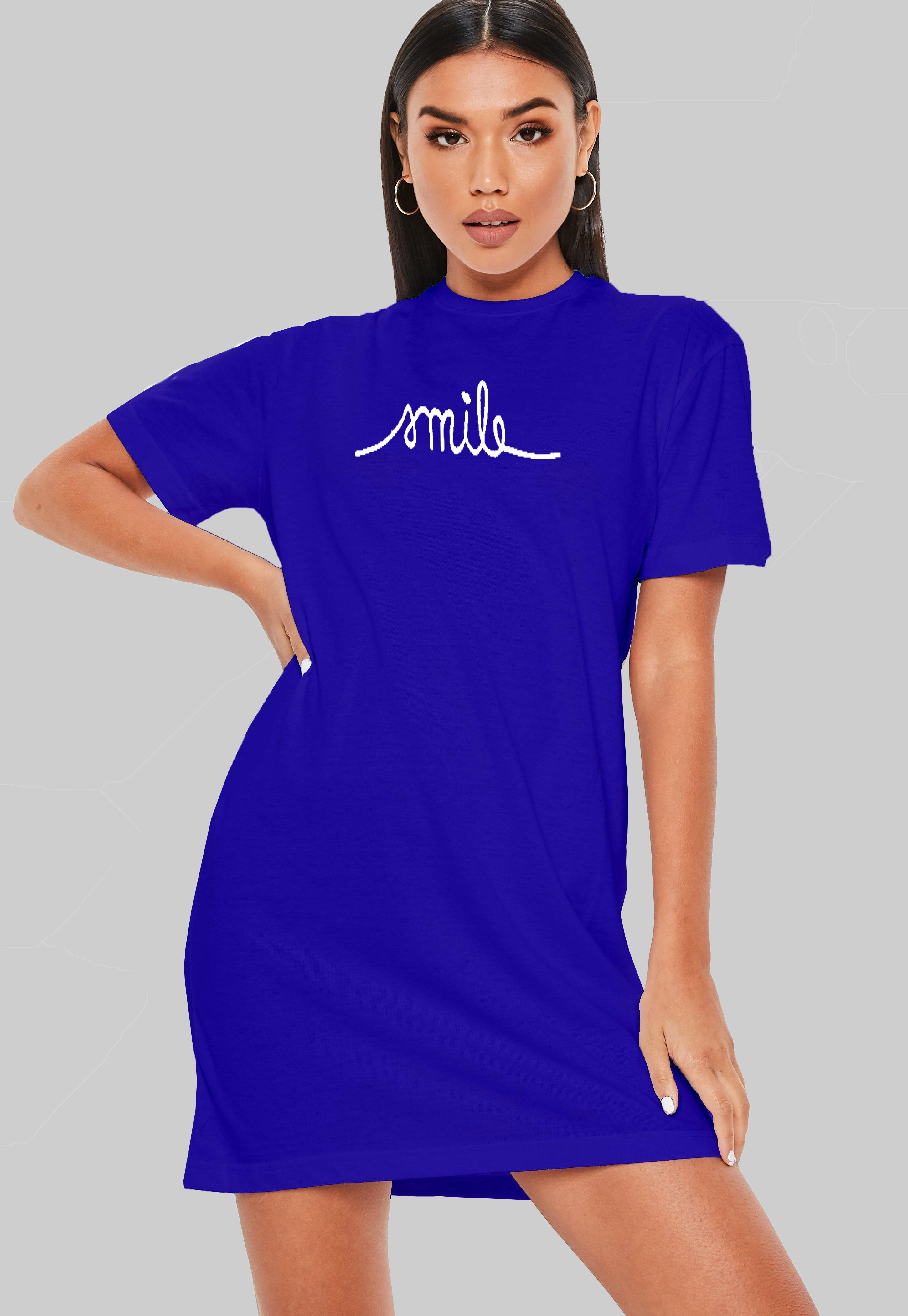 Smile T-Shirt Dress